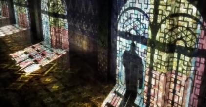 Mosaic Tile Corridor